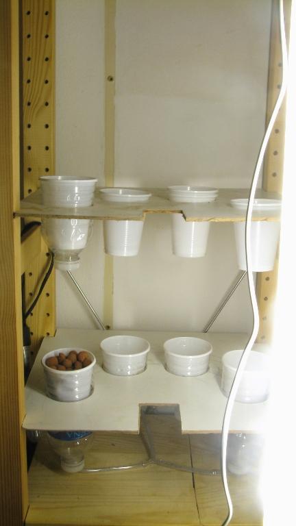 Homemade Hydroponics(1) Ebb & Flow Setup