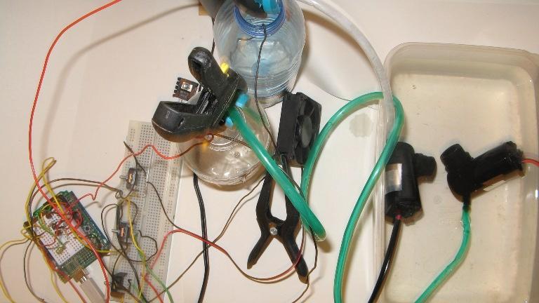 Hydroduino Pump control solved + project update