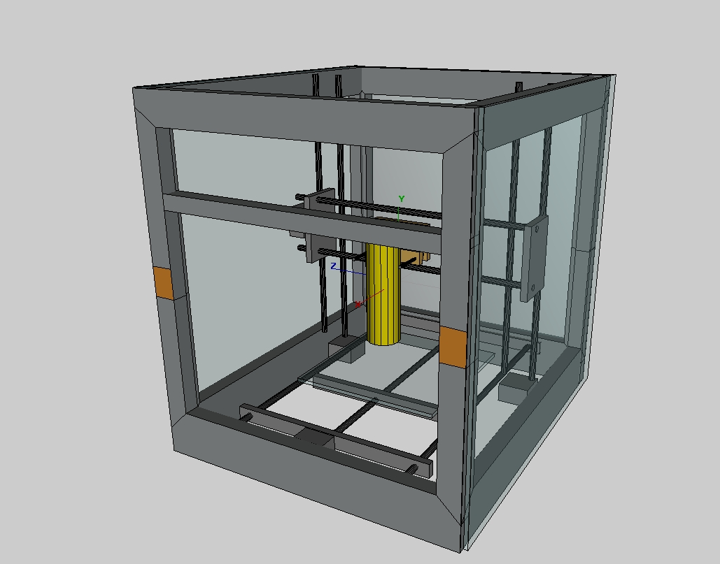 Building a repstrap (2) design changes: YARP v 0.2