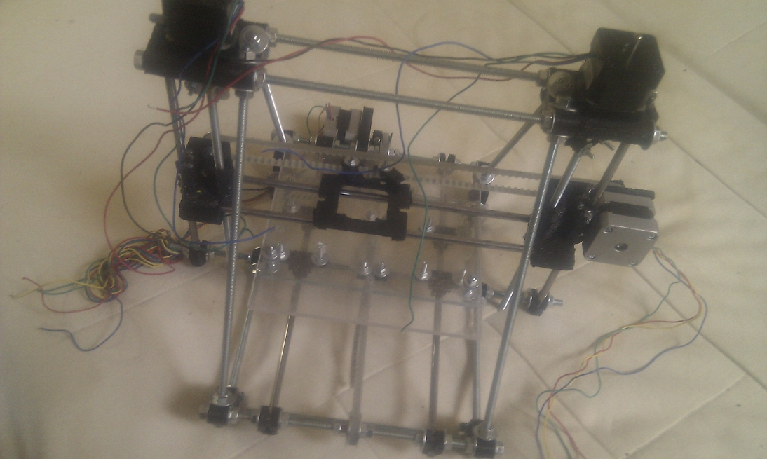 Bootstraping a Reprap : generation 2 is born !