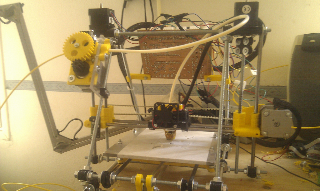 "The endless walz of reprap ""self"" upgrades"
